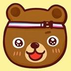 熊熊先生-新秀麗旅行箱行李箱