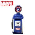 【日本正版】美國隊長 加油站 存錢筒 造型存錢筒 儲金箱 小費箱 漫威英雄 MARVEL - 248606