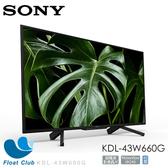 Sony 43? Full HD LCD Smart TV/馬來西亞製 KDL-43W660G (限宅配)
