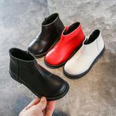 女童馬丁靴短筒兒童靴子公主單靴【南風小舖】