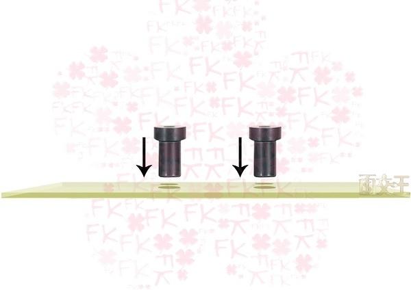 【尋寶趣】無螺帽固定螺絲 底座固定 RAM車架汽車/重機/機車/自行車支架 RAM-MARI-NUT-4U