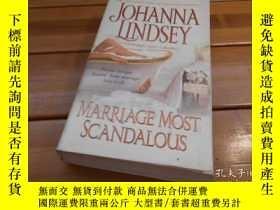 二手書博民逛書店MARRIAGE罕見MOST SCANDALOUSY19865
