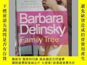 二手書博民逛書店英文原版罕見Family Tree by Barbara Del