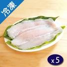 無刺巴沙魚片4入淨重460G/包X5【愛買冷凍】