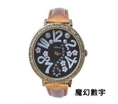 韓版精緻軟陶手錶(魔幻數字)   情人節禮物【Vogues唯格思】C070金3銀7