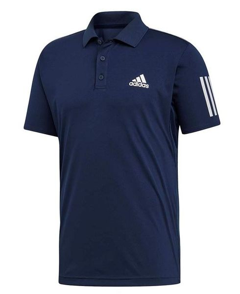 ADIDAS 男款 運動上衣POLO衫  藍 -NO.DU0850