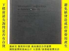 二手書博民逛書店英文書罕見information technology as business history 信息技術作為商業史
