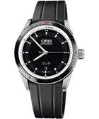 ORIS 豪利時 Artix GT 單向轉圈機械手錶-黑/ 735.7662.41.54RS