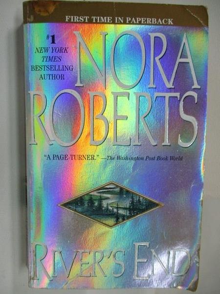 【書寶二手書T1/原文小說_AAK】River s End_Nora Roberts