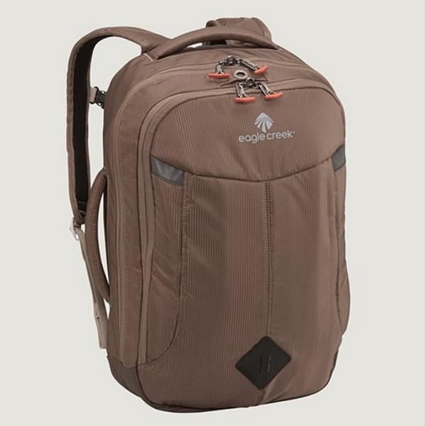 【Eagle Creek美國人氣旅遊配件】RFID17吋兩用電腦後背包-咖啡