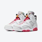 【預購】CLASSICK- NIKE Air Jordan 6 Retro Hare 兔寶寶 喬丹 6代 男鞋 桃紅白 綠黃藍紫 籃球鞋 CT8529-062