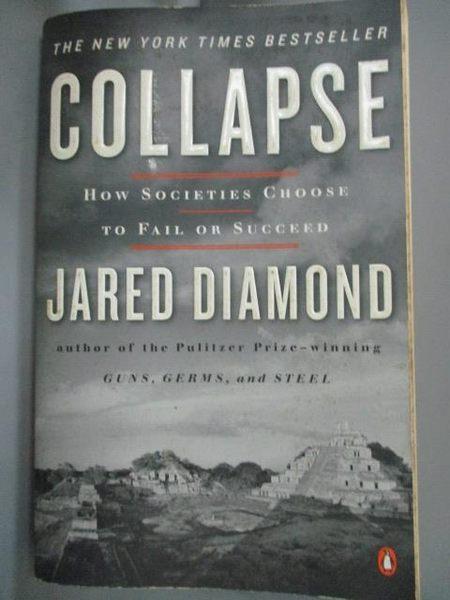 【書寶二手書T2/社會_IMO】Collapse: How Societies Choose to Fail or Su