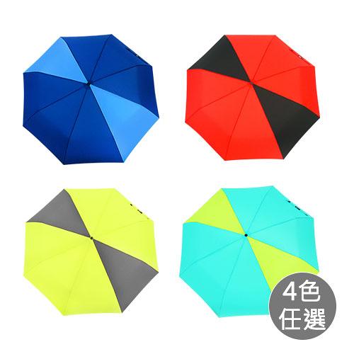 *買一送一*【雙龍牌】玩酷極簡超潑水自動開收三折傘 B7549P