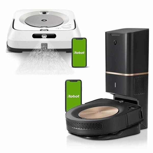 (預購6月5日出貨) iRobot Roomba S9+ 掃地機器人 + Braava Jet M6抹地機 優惠組合 [2美國直購]