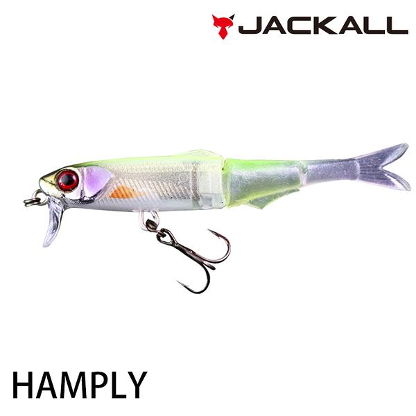 漁拓釣具 JACKALL HAMPLY [路亞軟餌]