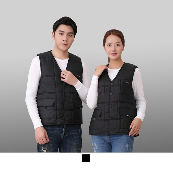 【晶輝團體制服】CH235*鋪棉加厚保暖背心,工作背心,工程裝潢維修背心
