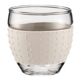 BODUM PAVINA杯璃杯兩件組100ml 米白