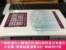 二手書博民逛書店Operations罕見Research An Introduction( )精裝Y1767 Taha, Ha
