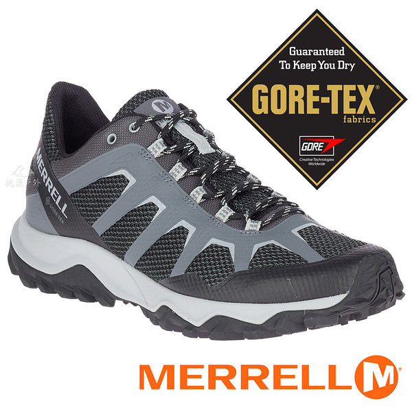 【MERRELL 美國】FIERY 男GORE-TEX多功能戶外健行鞋『黑/灰』16603 機能鞋.多功能鞋.休閒鞋.登山鞋