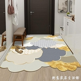 輕奢皮革入戶門地墊家用墊子可擦免洗pvc進門墊玄關腳墊門口地毯 創意家居生活館