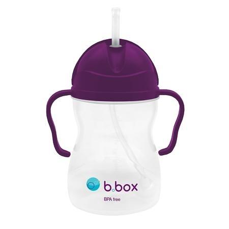 【澳洲b.box】防漏學習水杯(240ml)-葡萄紫