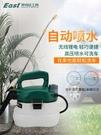 電動噴壺澆花小型家用懶人農用大容量殺蟲消毒高壓背打藥機噴霧器 小山好物