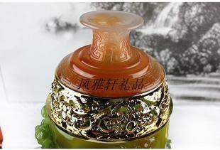 花開富貴 花瓶