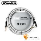 Dunlop MXR DCIW12R 12呎 一直頭一L頭 樂器用 導線 3.6公尺【吉他/貝斯/電子琴/6.3mm 皆適用】