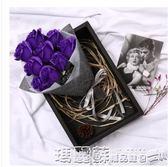 香皂花   七夕情人節禮物創意實用送女友老婆走心媽媽生日玫瑰花香皂花禮盒igo 瑪麗蘇