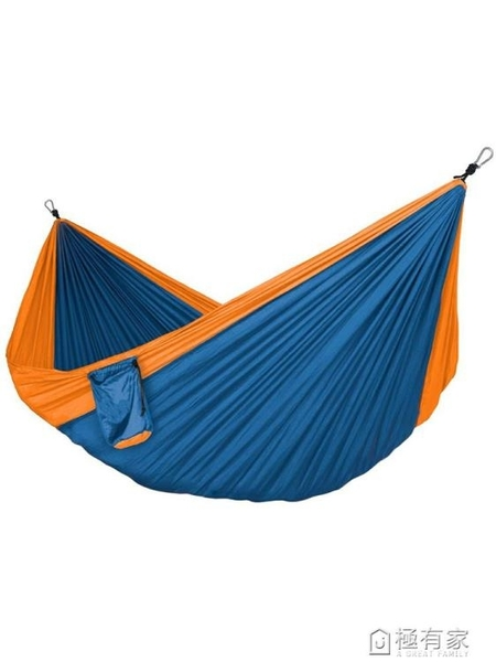 320X200尼絲紡尼龍降落傘布 單人雙人戶外輕休閒旅游野營吊床秋千 ATF 極有家