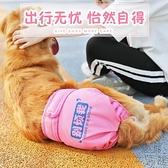 母狗狗生理褲大型犬寵物例假月經姨媽衛生安全褲【極簡生活】
