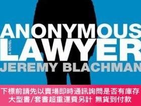 二手書博民逛書店Anonymous罕見LawyerY255174 Jeremy Blachman Henry Holt And