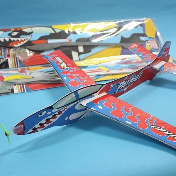 45cm 特大滑翔機 保麗龍 手擲滑翔機/一支入(促40) DIY高空滑翔機 童玩飛機-首510-21