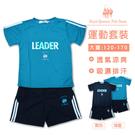 台灣製吸濕排汗運動服套裝 *2色 [1716]RQ POLO 中大童120-170 春夏童裝 現貨