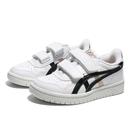 ASICS 休閒鞋 JAPANS PS 白 白黑金 後跟乳牛 皮革 中童 (布魯克林) 1204A019100