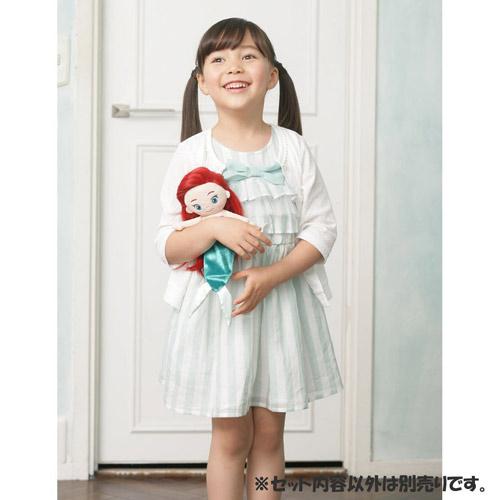 T-ARTS 迪士尼公主 梳髮絨毛娃娃 艾瑞兒_TA23849