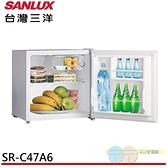 限區配送+基本安裝SANLUX 台灣三洋 47L 2級定頻單門電冰箱 SR-C47A6