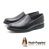 【南紡購物中心】Hush Puppies Shepsky Slip-On百搭禮服鞋 男鞋-黑