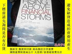 二手書博民逛書店RISING罕見ABOVE FINANCIAL STORMS98