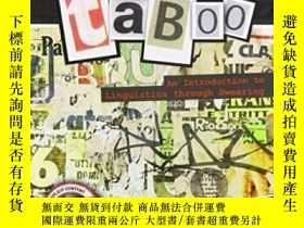 二手書博民逛書店This罕見Book Is Taboo: An Introduction To Linguistics Throu