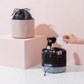 大容量化妝包女士便攜多功能手提化妝品收納盒ins風2020新款超火 雙11狂歡購