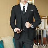 男士西服套裝青少年單西外套男正裝職業休閒韓版修身結婚小西裝夏 概念3C旗艦店