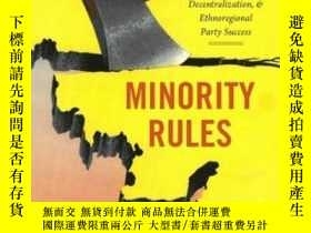 二手書博民逛書店Minority罕見RulesY364682 David Lublin Oxford University P