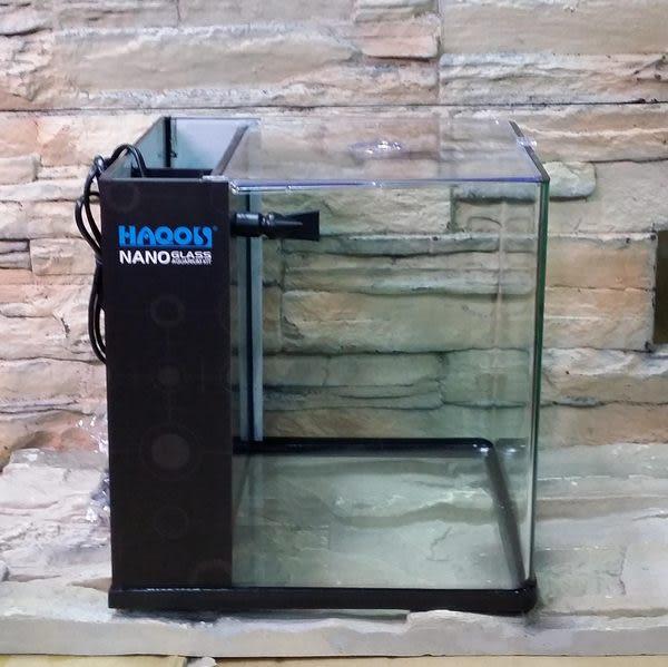 【西高地水族坊】玻璃材質套缸 25cm 方缸 背濾缸 內含:缸+背濾+馬達+上蓋