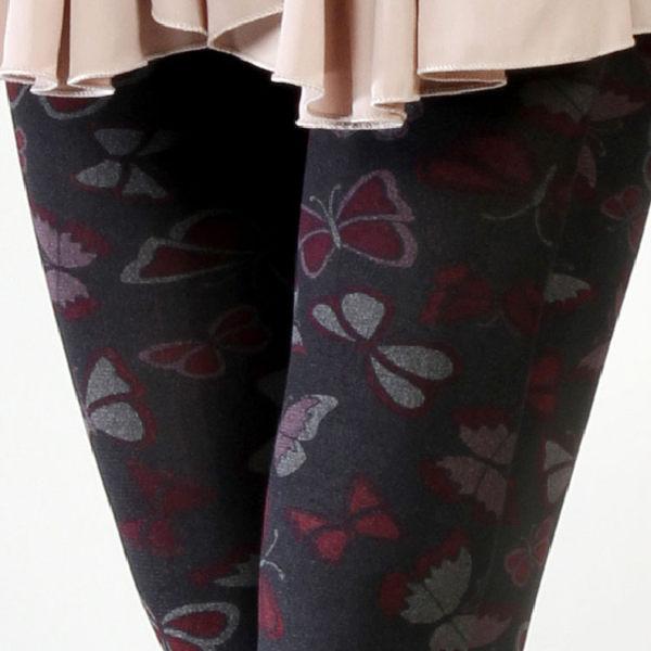 香川絲襪 台灣製 時尚流行花紋 褲襪【NO630-155】