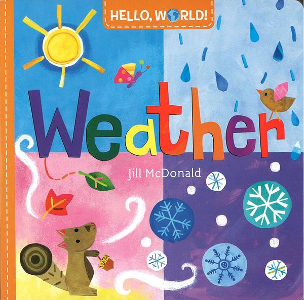【幼兒科普認知書】HELLO WORLD WEATHER /硬頁 《主題:天氣》