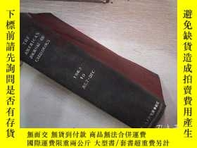 二手書博民逛書店THE罕見AMERICAN JOURNAL OF CARD OL