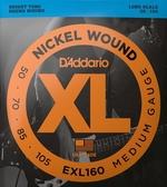 D'Addario EXL160貝斯4弦(50-105)兩包裝