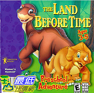 [106美國暢銷兒童軟體] The Land Before Time Preschool Adventure