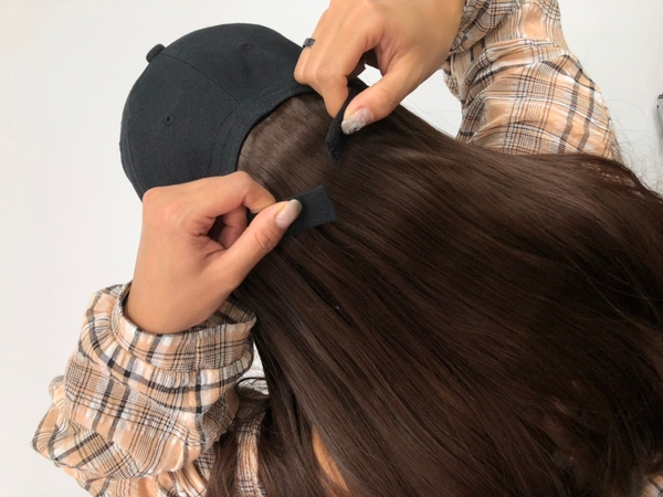 帽子假髮 一體成型 快速變髮 仿真材質 魔髮樂